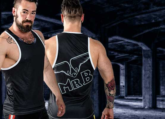B URBAN Leeds Muscle Shirt