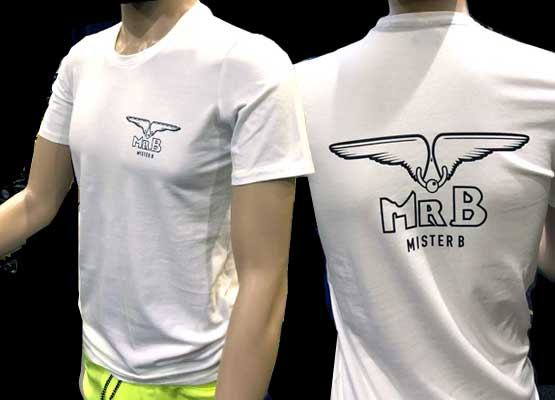 Mr.B t-Shirts white